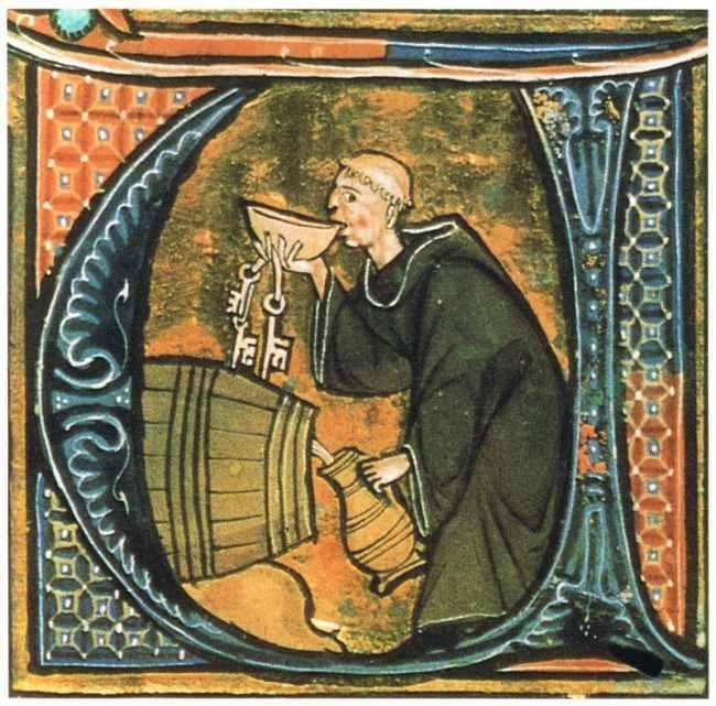 Durante la Edad Media, la cerveza además de ser una fuente importante de calorías, también fue quizá, la única bebida potable disponible para casi cualquier persona.