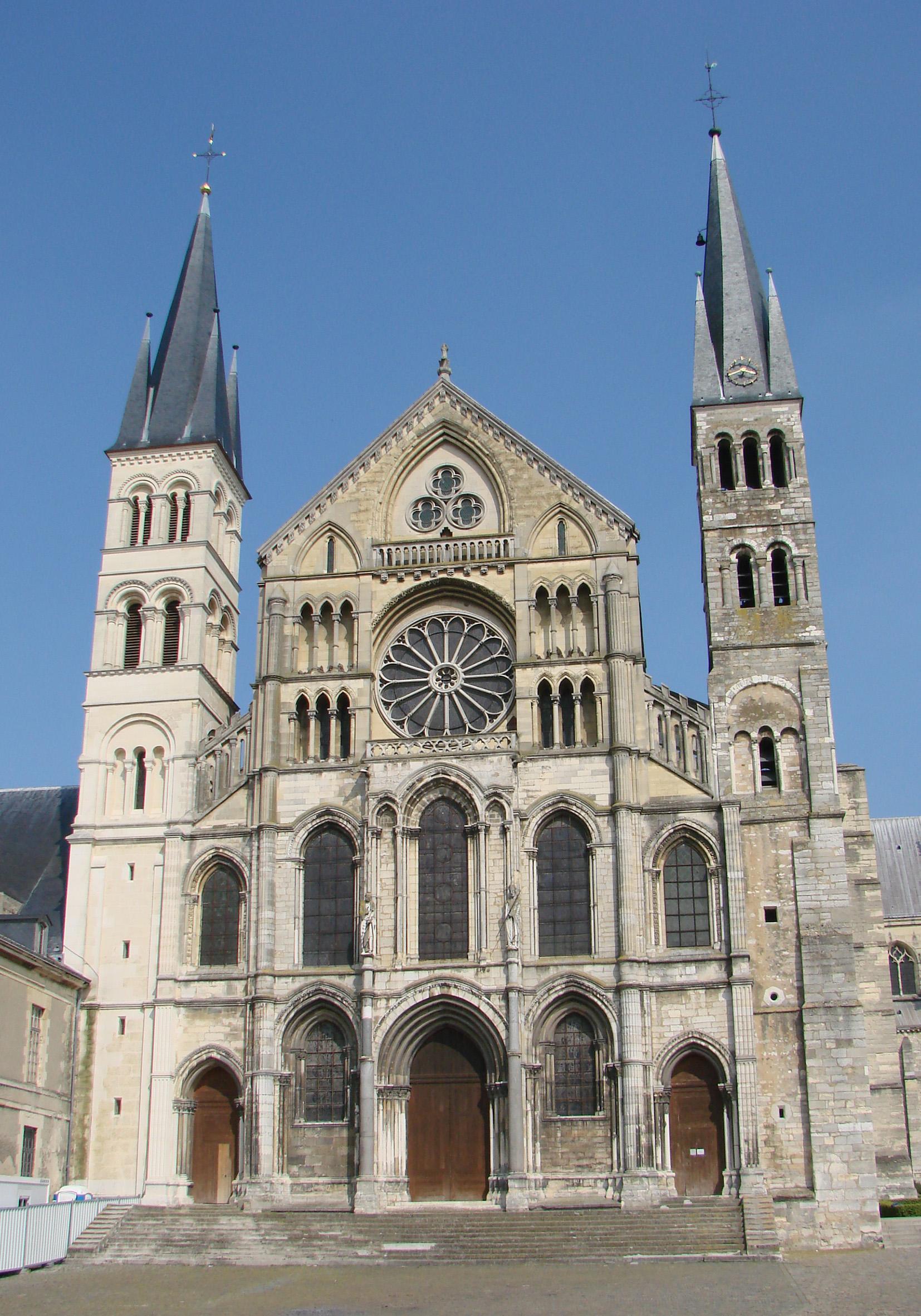 Basílica de Saint-Remi, Reims.