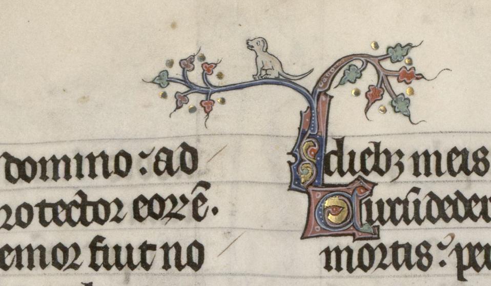 Breviario  de Renaud Marguerite de Bar Metz, ca. 1302-1305, Verdun-Bibliothèque municipale, ms. 107-fol.-16v.