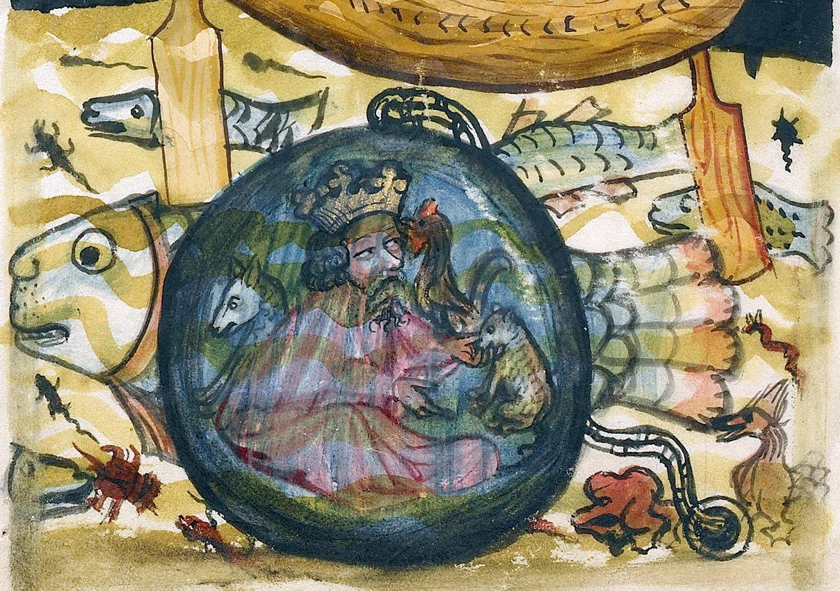 Alejandro Magno explora el fondo del Océano