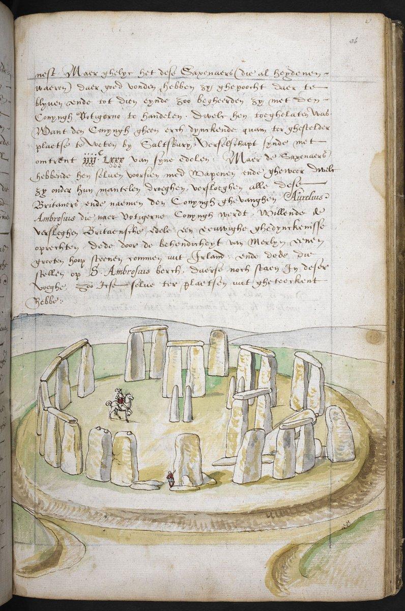 Description of Great Britain and Ireland (c.1574), f.36 - BL Add MS 28330