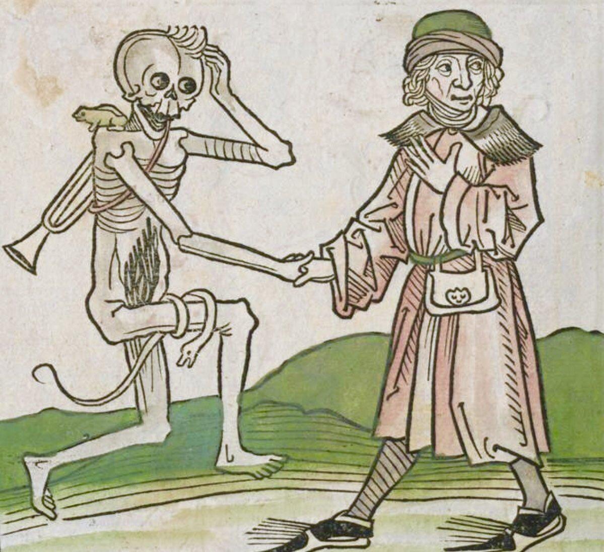 Danza de la muerte siglo XV